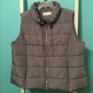 Like-new Plus Size Calvin Klein Puffer Vest